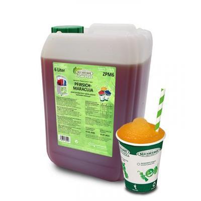 SLUSHYBOY Sirop granita sans sucre Slushyboy® Frozen Drinks x 12 L - PÊCHE PASSION