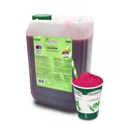 SLUSHYBOY Sirop granita sans sucre Slushyboy® Frozen Drinks x 12 L - LOLLYPOP