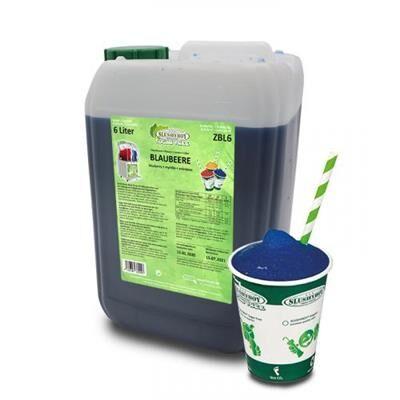 SLUSHYBOY Sirop granita sans sucre Slushyboy® Frozen Drinks x 12 L - MYRTILLE