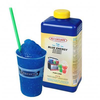 SLUSHYBOY Sirop granita Slushyboy® Frozen Drinks - BLUEENERGY