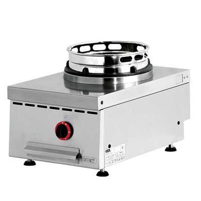 NAYATI Wok à gaz de table 1 brûleur - 13 kW