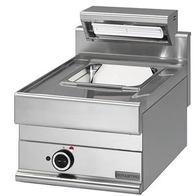MASTRO Chauffe-frites professionnelle électrique à poser version GN 1/1 Série 650
