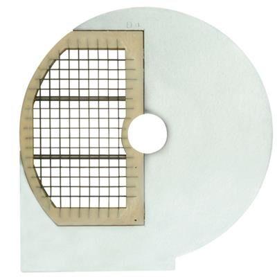 QDM Disques universels de coupe-légumes pour couper en petits cubes