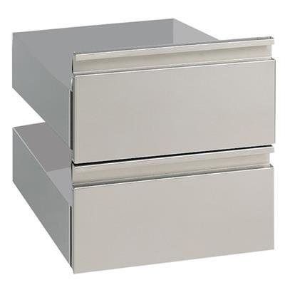 MASTRO Kit de 2 tiroirs pour soubassement L = 400 mm