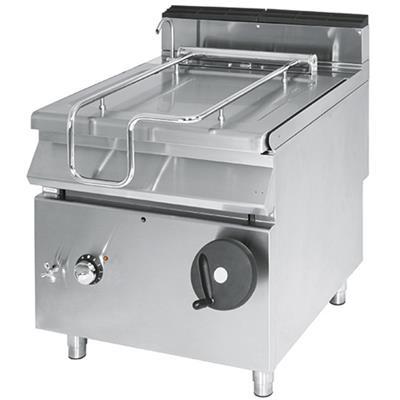 VIRTUS Sauteuse électrique professionnelle à basculement manuel 50 L Série 700