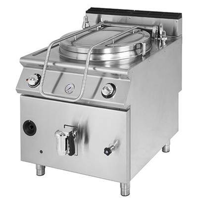 VIRTUS Marmite professionnelle électrique 50 litres, chauffage indirect, Série 700