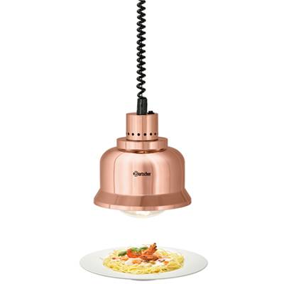 BARTSCHER Lampes chauffantes rétractables buffets et comptoirs - Cuivre