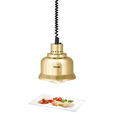 BARTSCHER Lampes chauffantes rétractables buffets et comptoirs - Doré