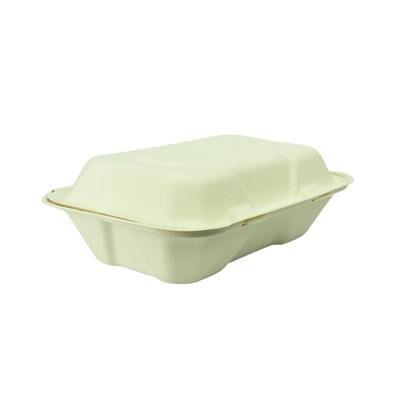 Vegware Boîtes repas en bagasse compostable Vegware - lot de 200