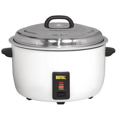 BUFFALO Marmite cuiseur à riz 10 L - 30 à 50 personnes