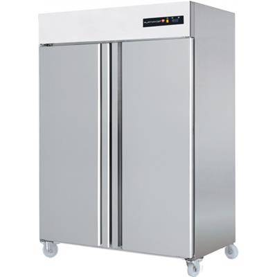 TECHNITALIA Armoire congélateur inox 1400 litres GN 2/1 - 2 portes