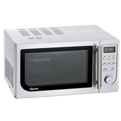 BARTSCHER Four micro-ondes avec air chaud et grill 25L 900W
