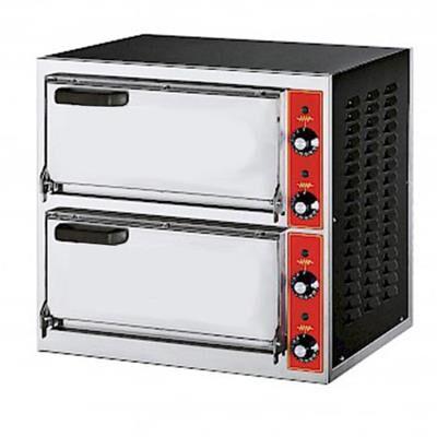 GGF Four à pizza électrique MICRO2 - 2 chambres 2 pizzas Ø 40 cm