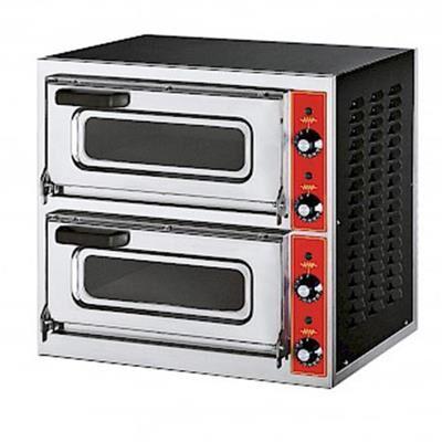 GGF Four à pizza électrique MICRO2V 2 chambres 2 pizzas Ø 40 cm
