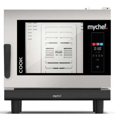 MYCHEF Four Mixte Mychef Cook Pro 4 GN 1/1 400V porte à gauche
