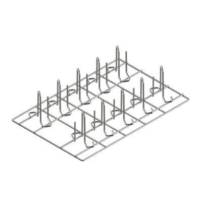 EKA Grille en AISI 304 60/40 pour la cuisson verticale