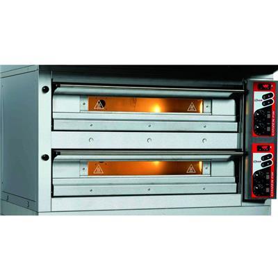 ZANOLLI Four à pizza électrique 2 x 6 pizzas Ø33 cm CITIZEN PW6+6