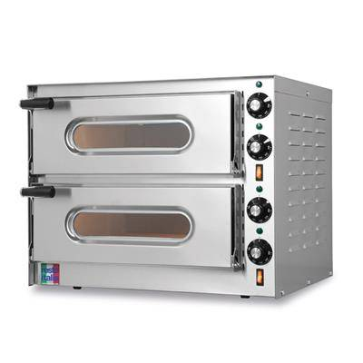RESTO ITALIA Four à pizza électrique double Restoitalia - Small G2
