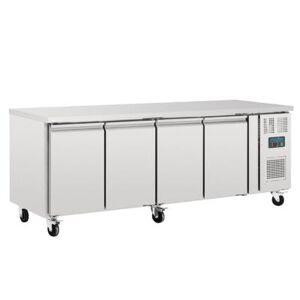 POLAR Table réfrigérée positive 4 portes Polar Série U 553L - Publicité