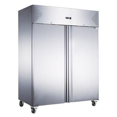 AFI Armoire réfrigérée positive inox 1300 litres GN 2/1 - 2 portes