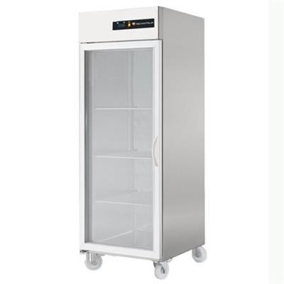 TECHNITALIA Armoire réfrigérée inox positive GN 2/1 700 litres - 1 porte vitrée