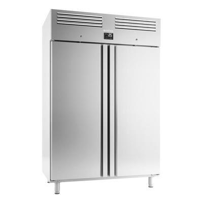 INFRICO Armoire réfrigérée positive inox 1240 litres GN 2/1 - 2 porte