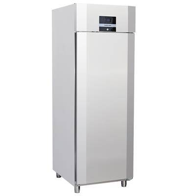 COOLHEAD Armoire réfrigérée tropicalisée inox GN 2/1 550 litres - 1 porte