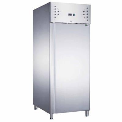 AFI Armoire réfrigérée positive inox 600 litres 2/1 GN - 1 porte