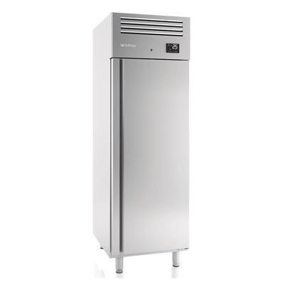 INFRICO Armoire réfrigérée positive inox 560 litres GN 2/1 - 1 porte