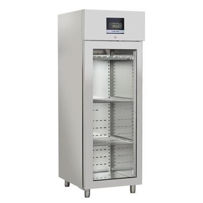 COOLHEAD Armoire froide de maturation de viande 700 litres 1 porte vitrée