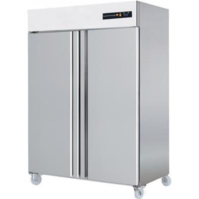 TECHNITALIA Armoire réfrigérée positive inox 1400 litres GN 2/1 - 2 portes