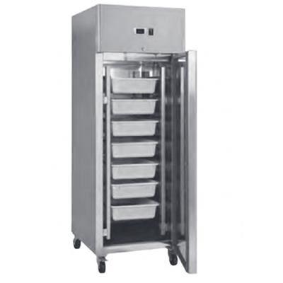 L2G Armoire à poissons réfrigérée tout inox 600 litres - 1 porte