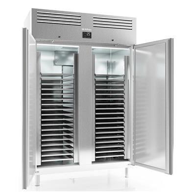 INFRICO Armoire pâtissière réfrigérée positive inox 1240 litres 2 portes