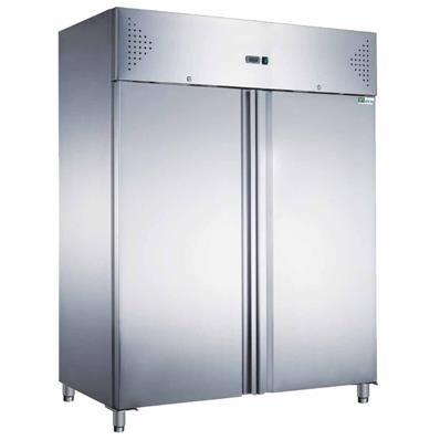 AFI Armoire réfrigérée positive inox 1200 litres 2/1 GN - 2 portes