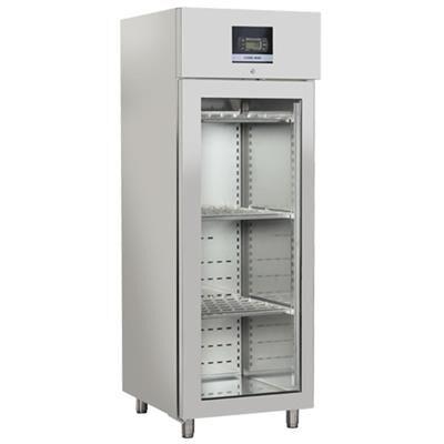 COOLHEAD Armoire froide d'affinage viande et fromages 700 litres 1 porte vitrée