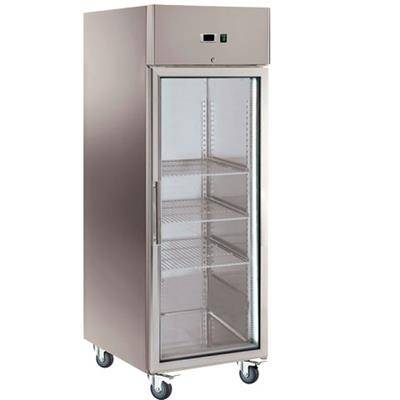 L2G Armoire réfrigérée 650 litres GN 2/1 - 1 porte vitrée