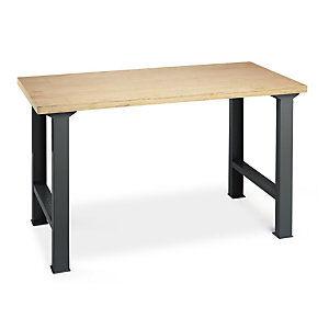 Établi d'atelier en bois multi-usage