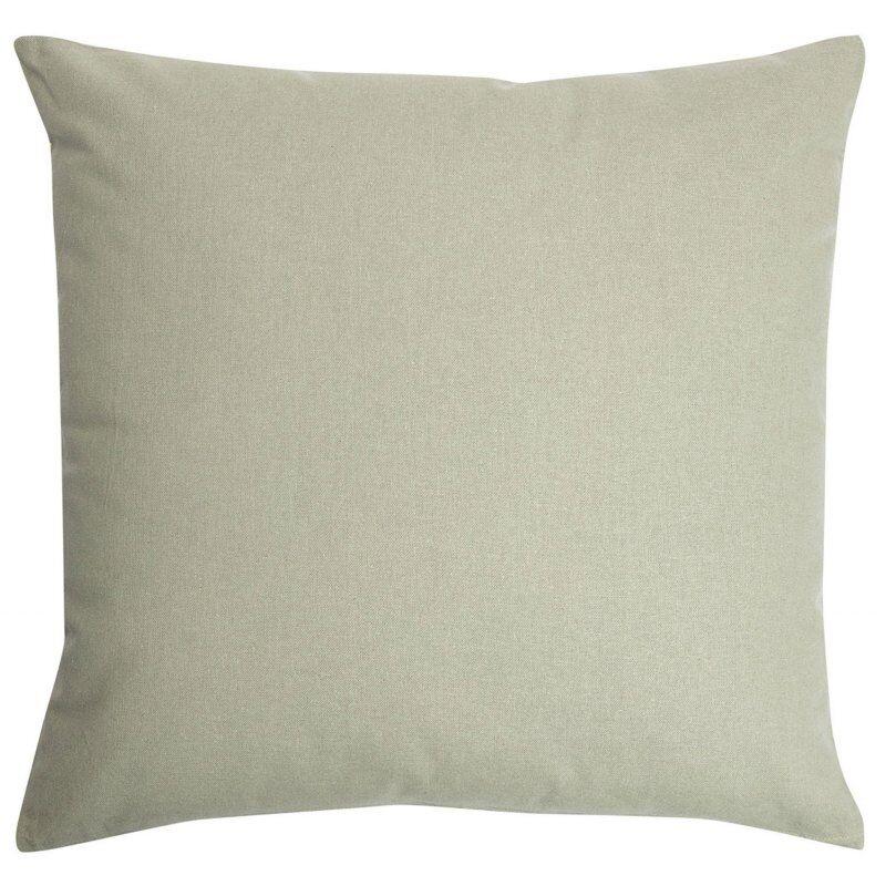 Housse de Coussin 100% Coton 45 x 45 cm Non Déhoussable Uni The Vert