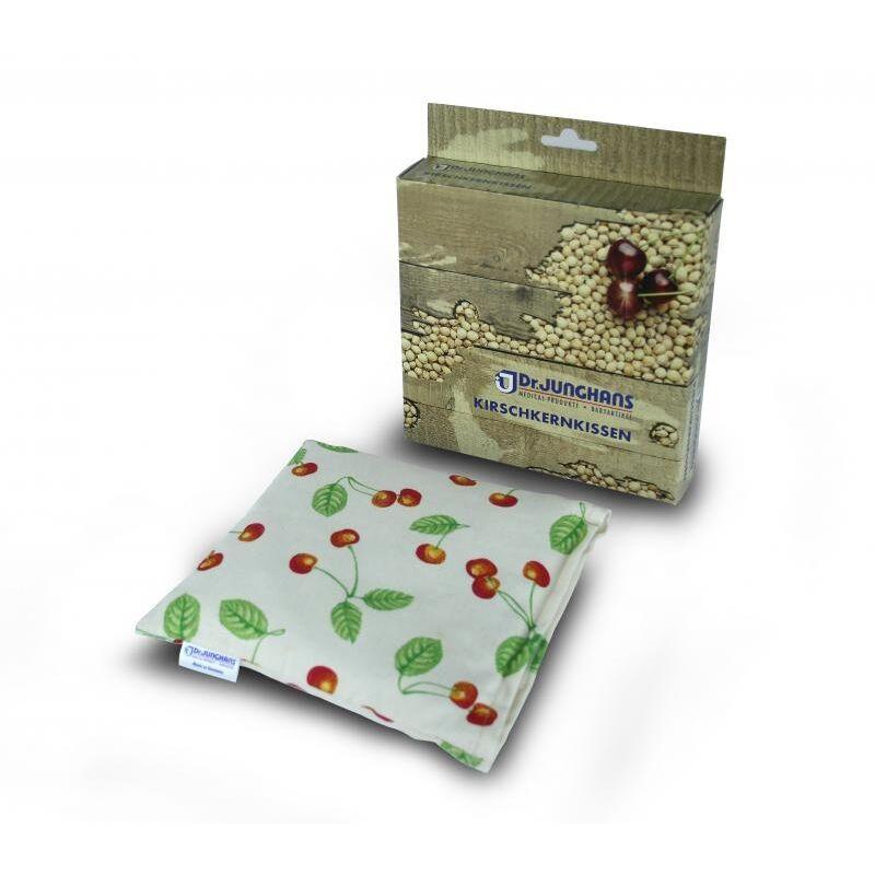 Gohy Coussin noyaux de cerises 17 x 17 cm - Sans Housse