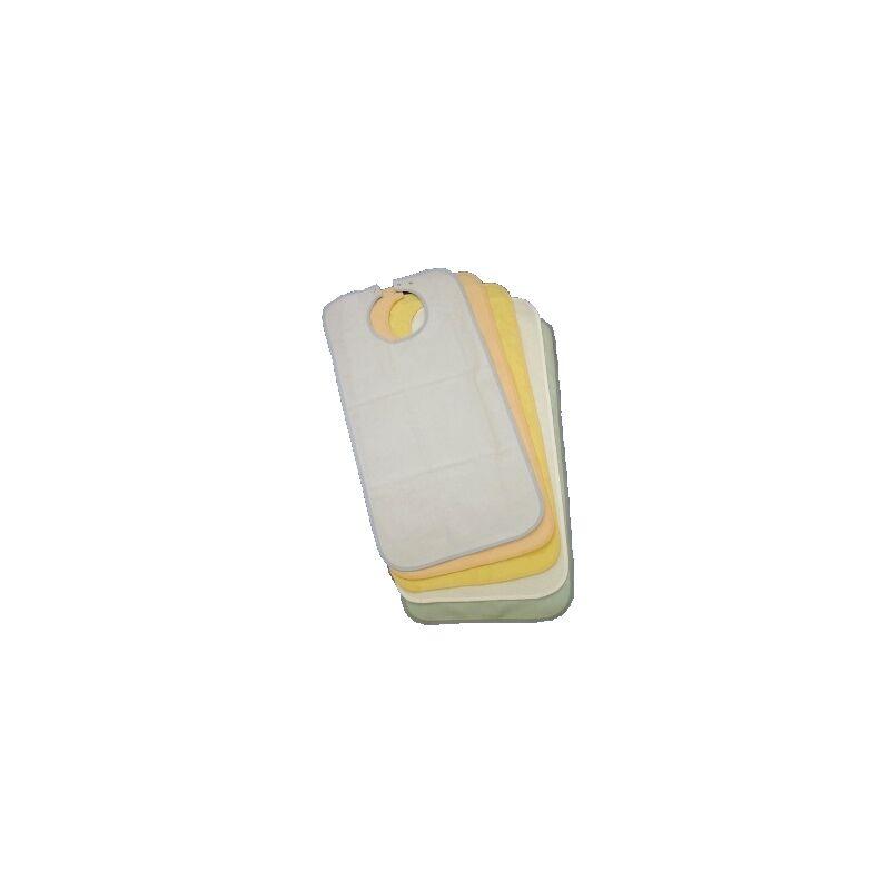 Gohy Bavoir imperméable en éponge pour adulte - 50 x 90 cm Abricot