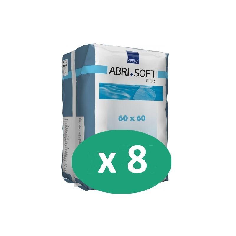 ABENA Abri-Soft Basic 60 x 60 cm - 8 paquets de 60 alèses