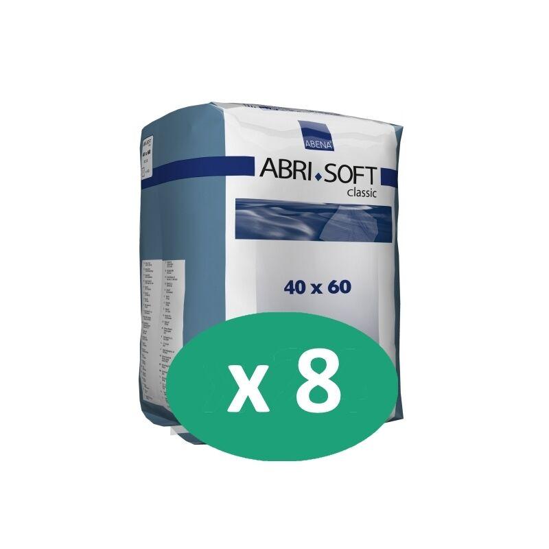 ABENA Abri-Soft Classic 60 x 40 cm - 8 paquets de 60 alèses