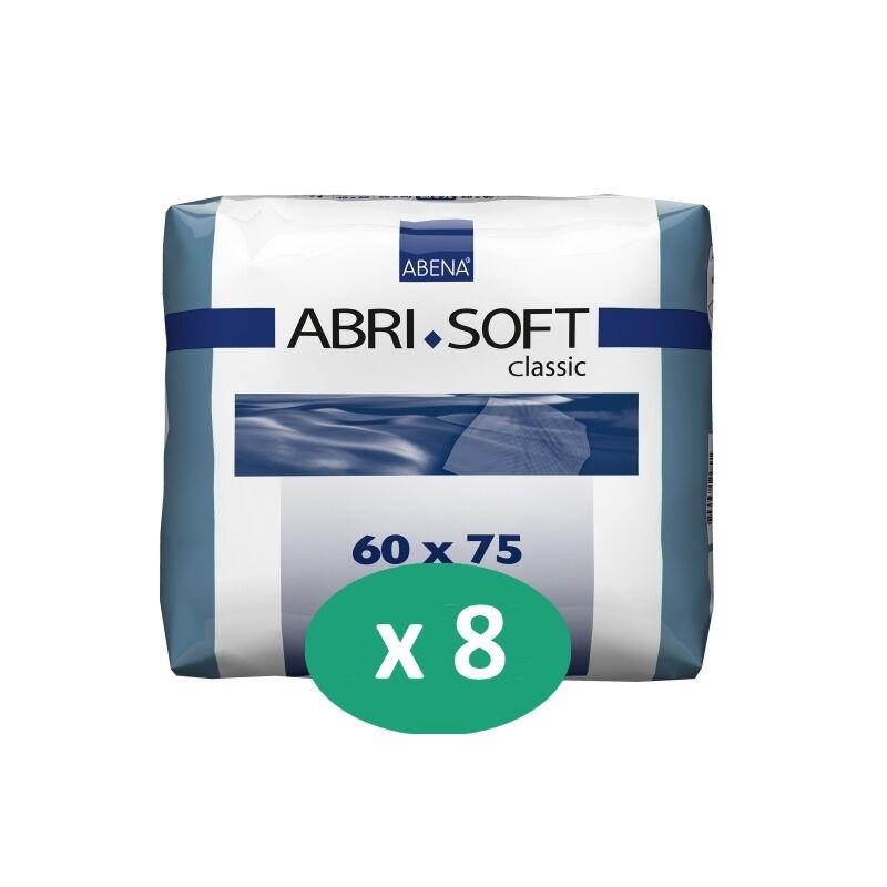 ABENA Abri-Soft Classic 60 x 75 cm - 8 paquets de 30 alèses