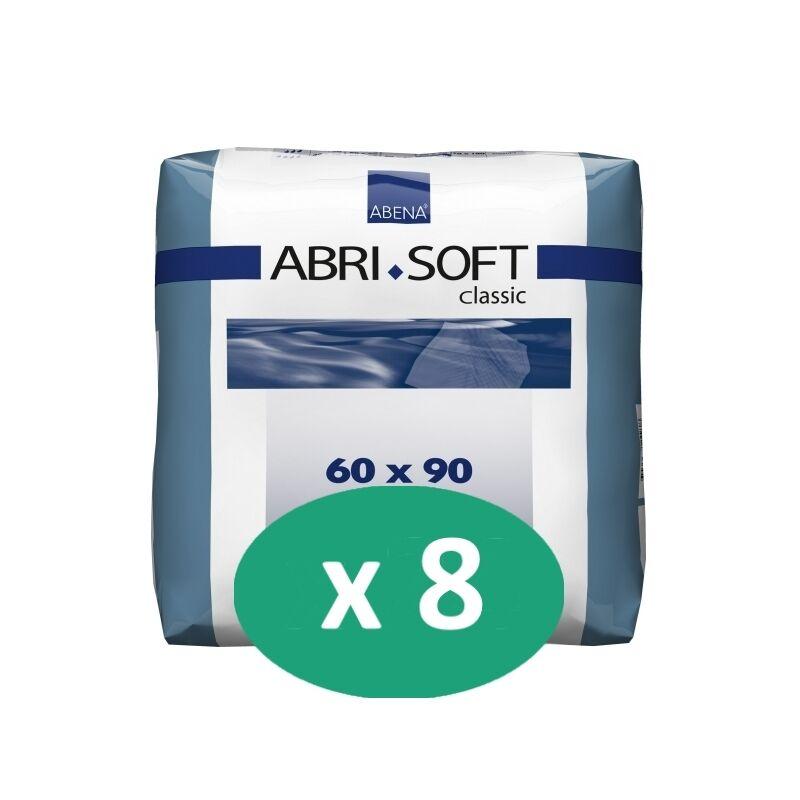 ABENA Abri-Soft Classic 60 x 90 cm - 8 paquets de 25 alèses