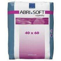 ABENA Abri-Soft SuperDry - 4 paquets de 60 protections 60 x 40 cm