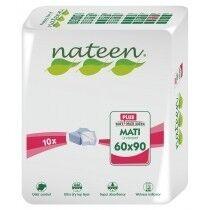 Nateen Mati Plus - 8 paquets de 10 protections 60 x 90 cm