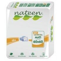 Nateen Mati Soft - 8 paquets de 10 protections 60 x 60 cm