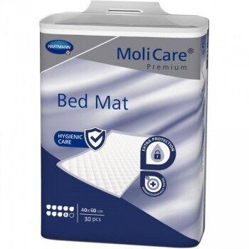 Hartmann Molicare Premium Bed Mat 9 gouttes 60 x 40 cm - 6 paquets de 30 protections