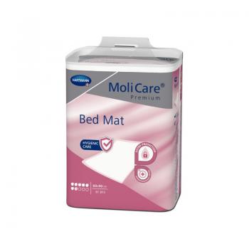 Hartmann Molicare Premium Bed Mat 7 gouttes 60 x 90 cm - 8 paquets de 30 protections