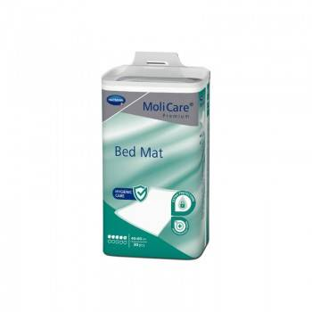 Hartmann Molicare Premium Bed Mat 5 gouttes 60 x 40 cm - 6 paquets de 30 protections